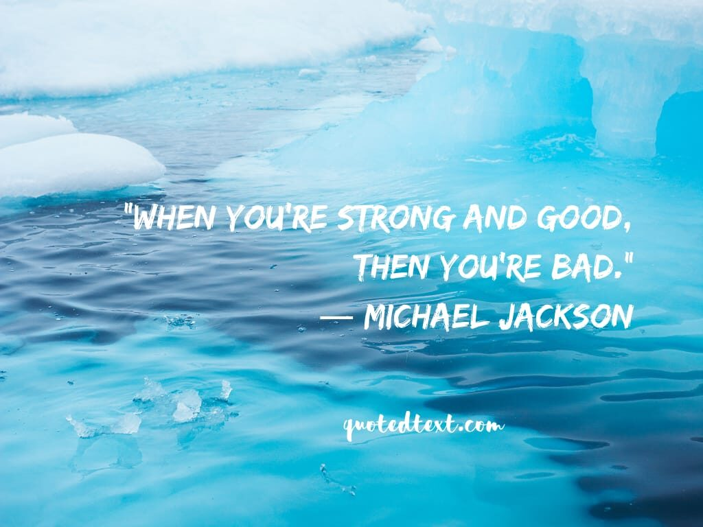 michael jackson real quotes