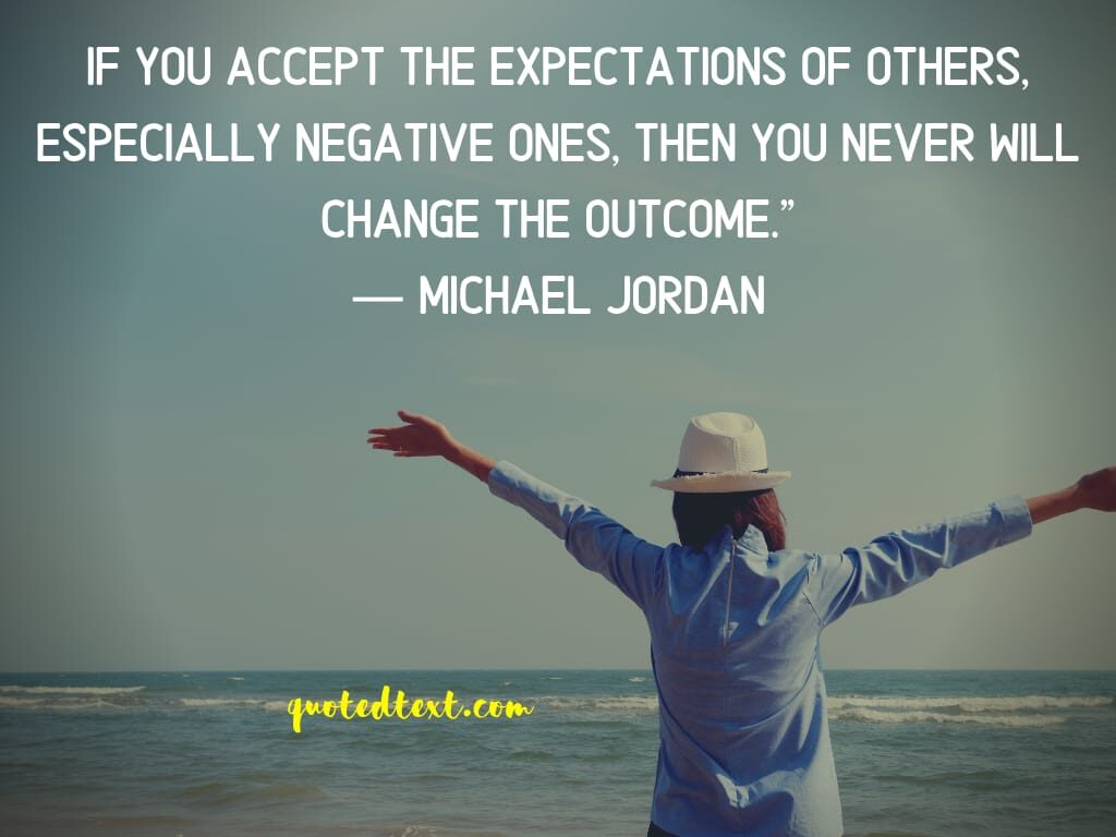 michael jordan quotes on expectations