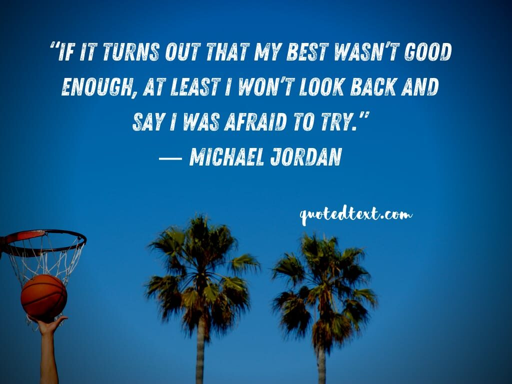 michael jordan quotes on fear