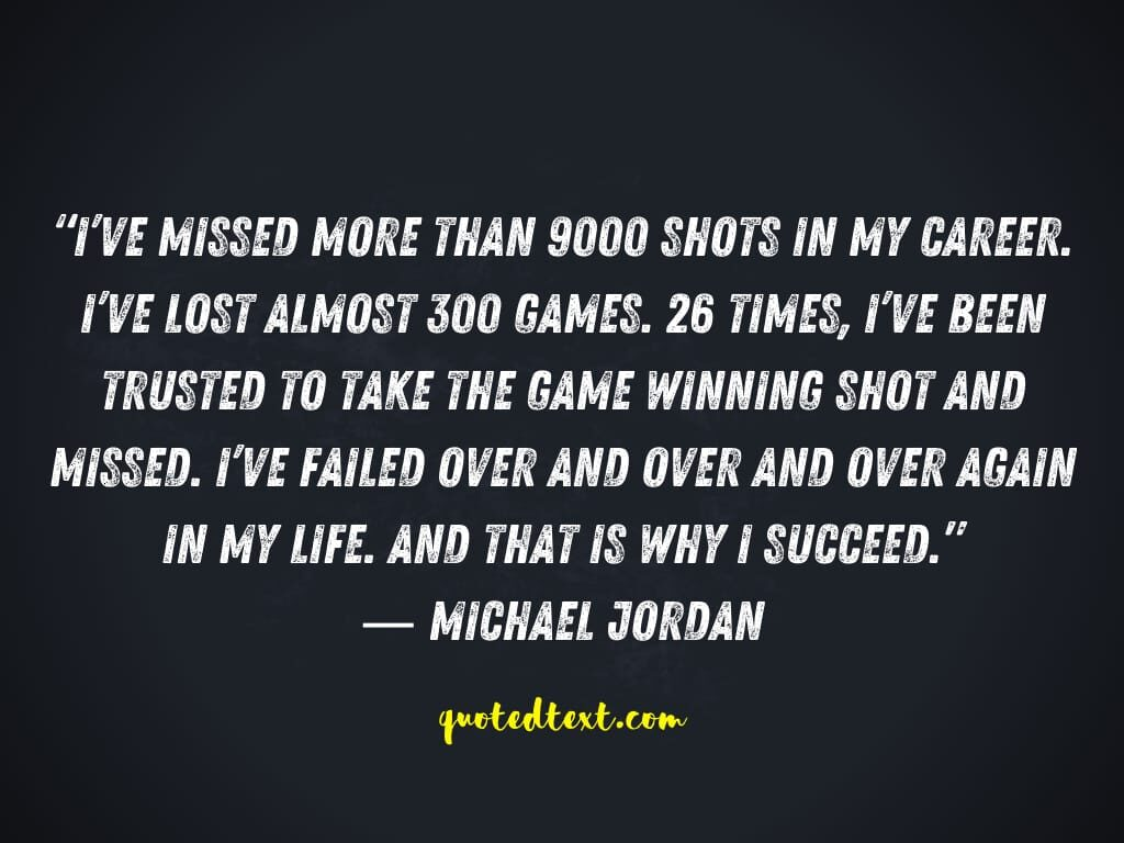 michael jordan quotes on successful life