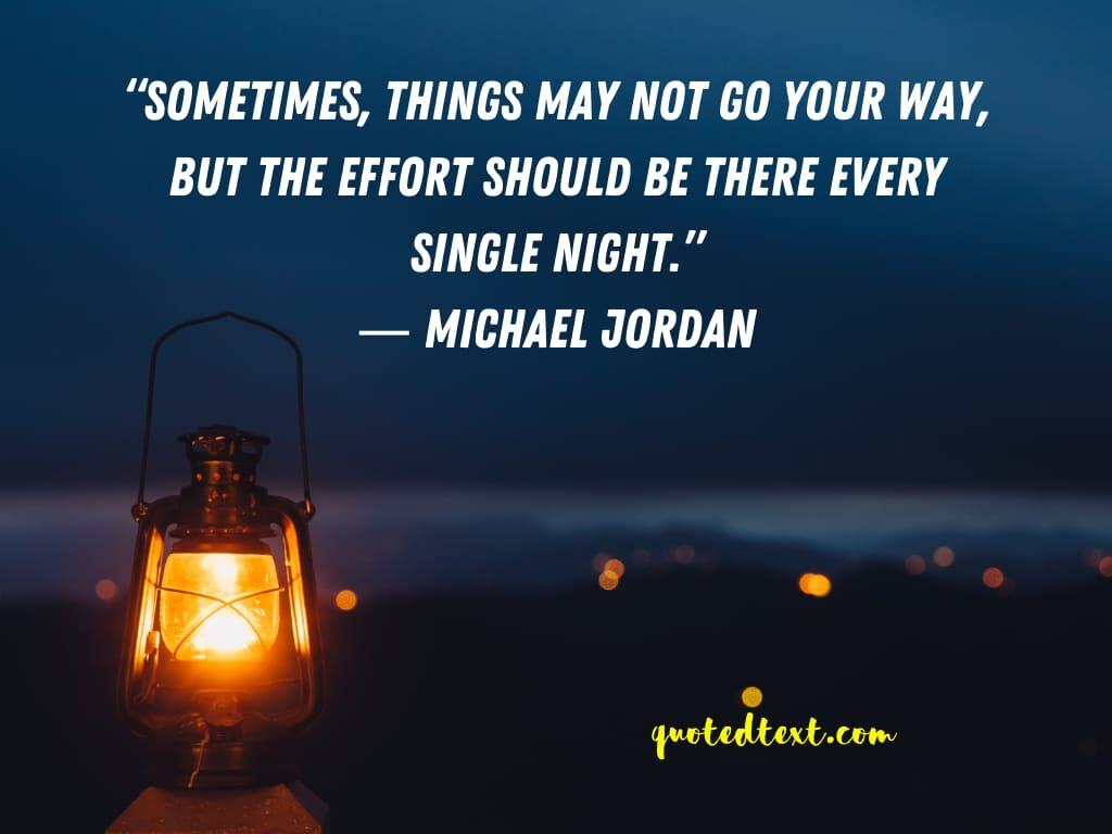 michael jordan quotes on effort