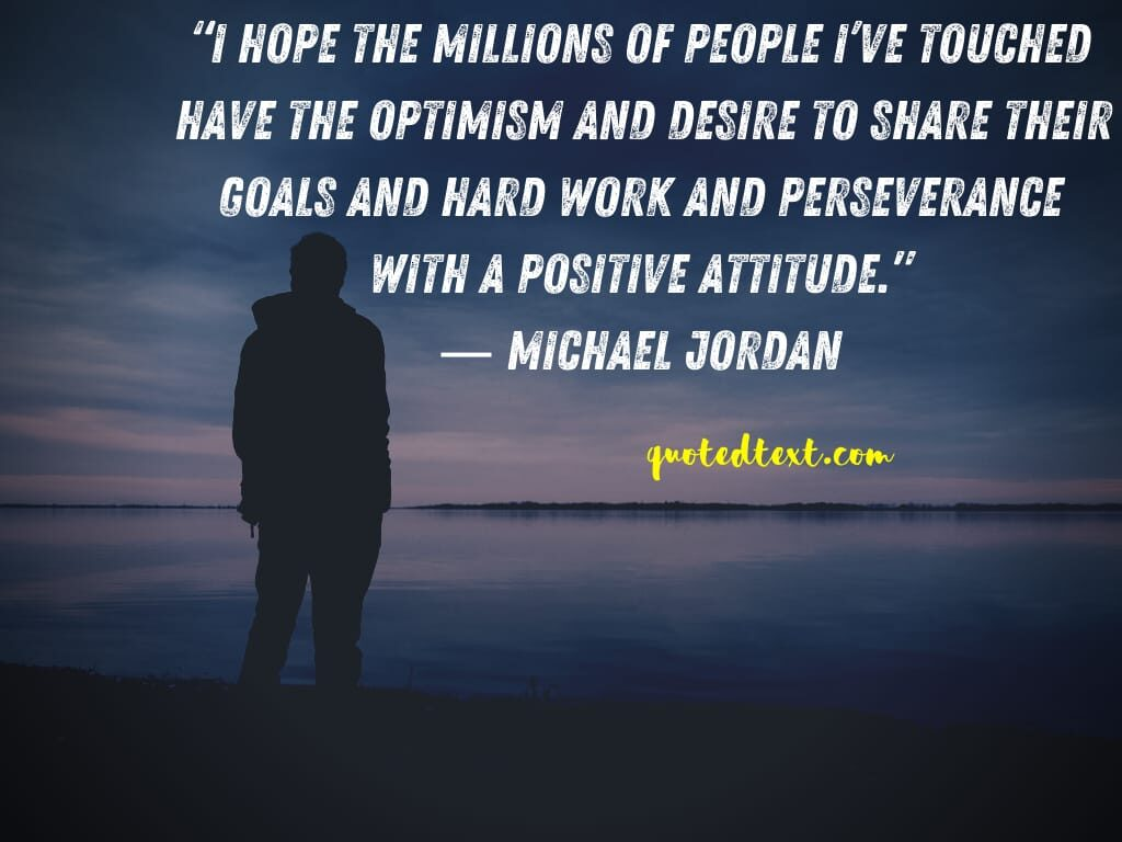 michael jordan quotes on stay positive