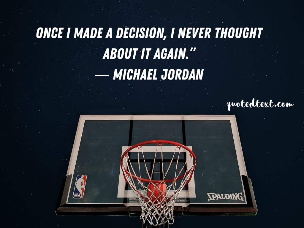 michael jordan quotes on decisions