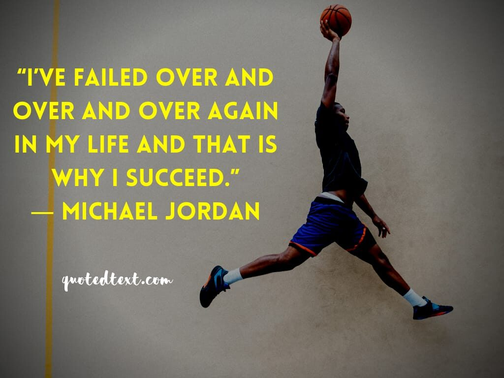 michael jordan quotes on success
