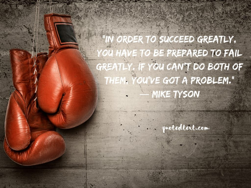 quotes on success by mike tyson
