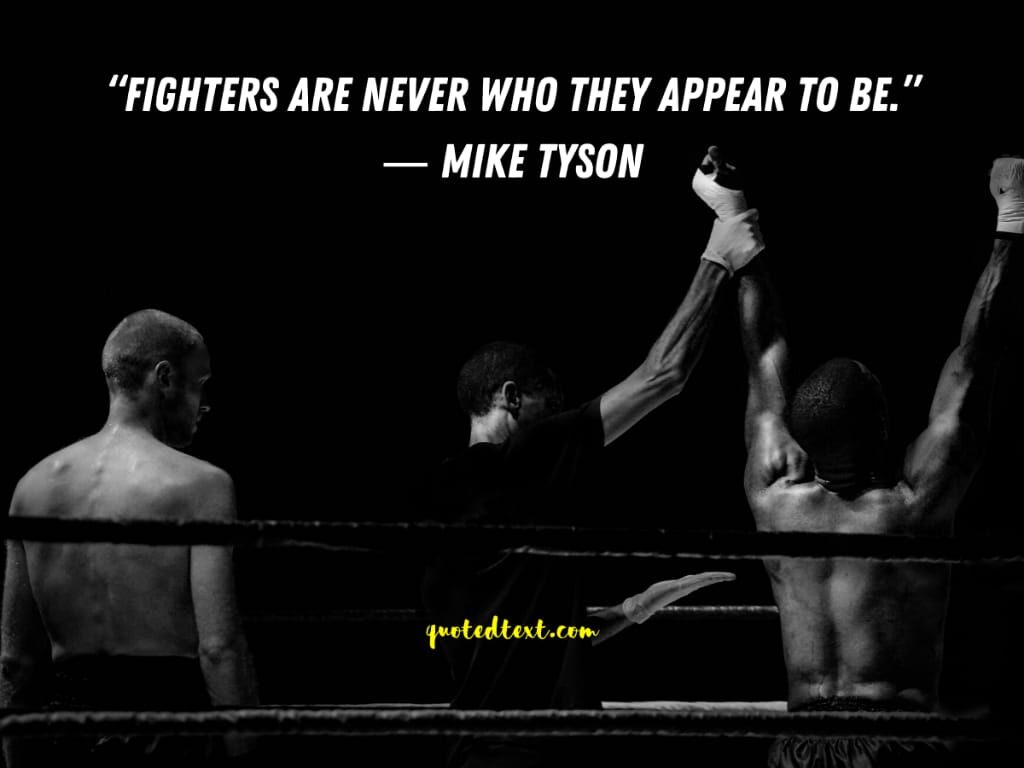 fighters quotes by maike tyson