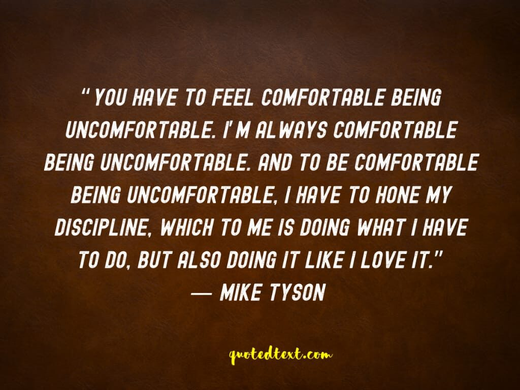 discipline quotes by mike tyson
