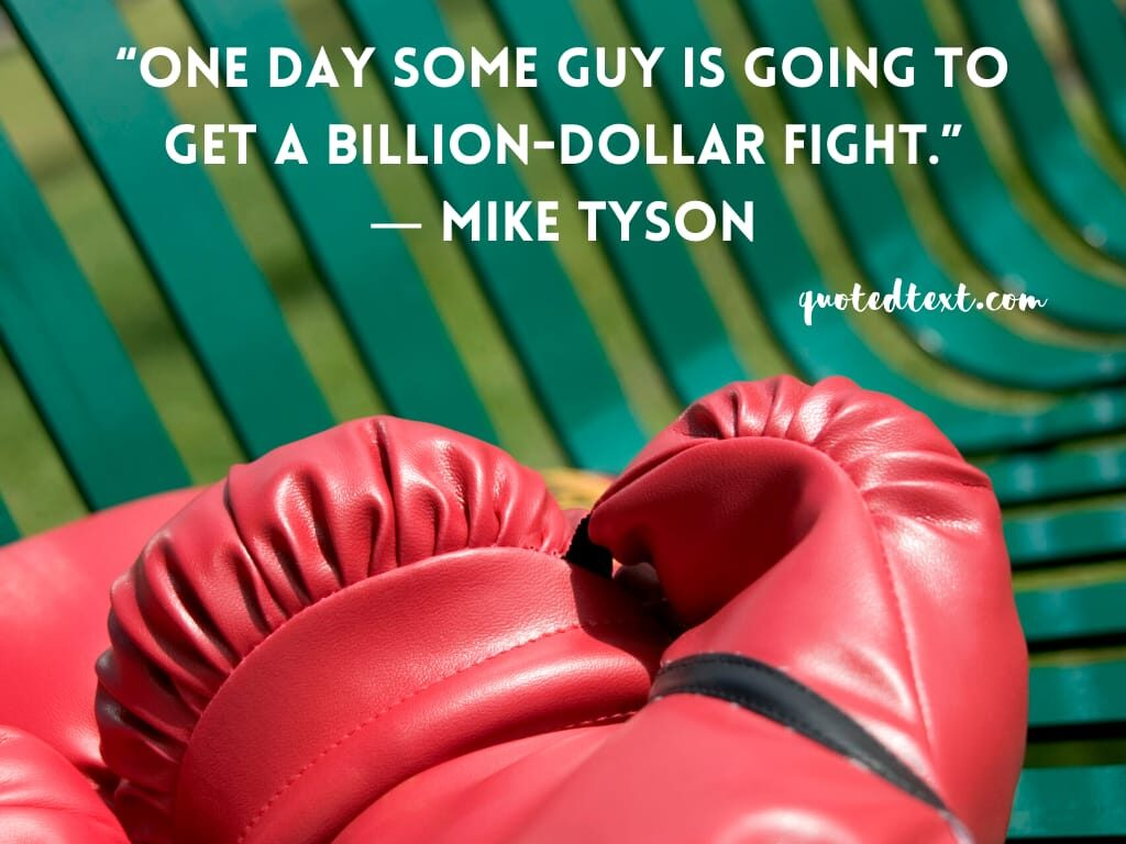 mike tyson fight quotes
