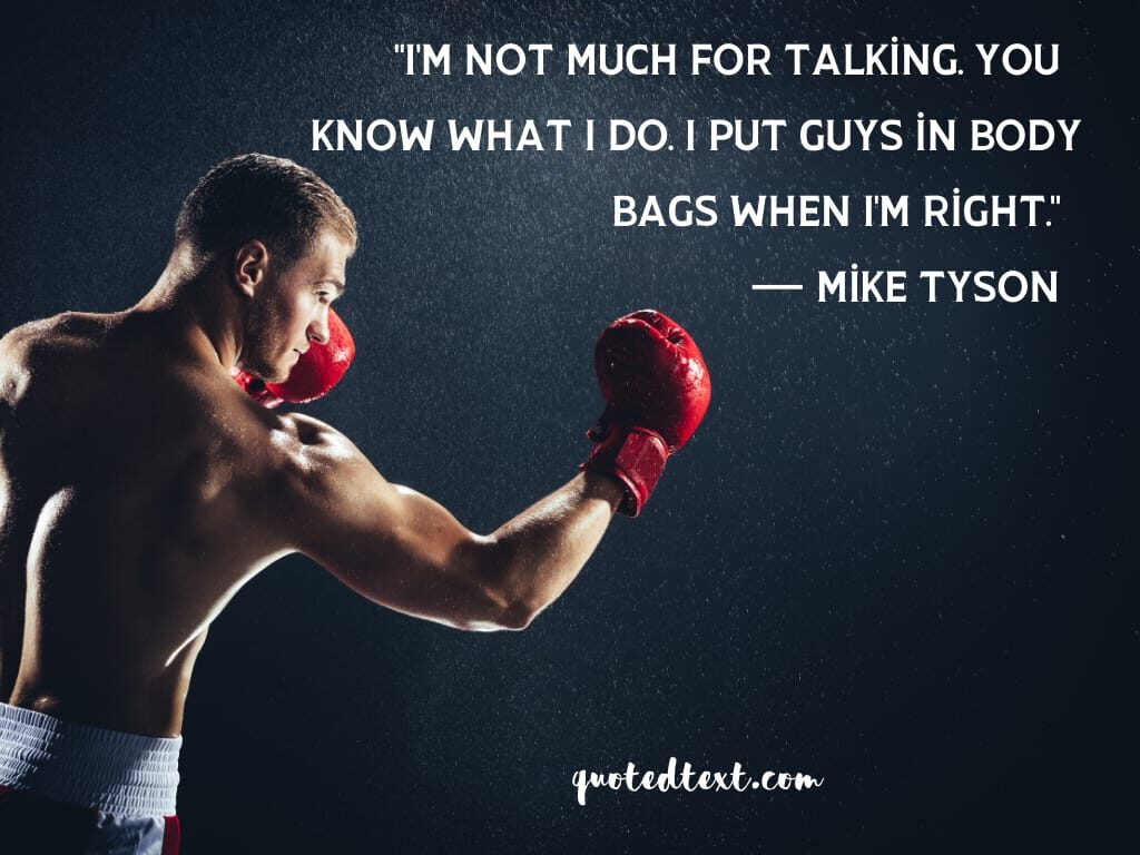 boxing best mike tyson quotes
