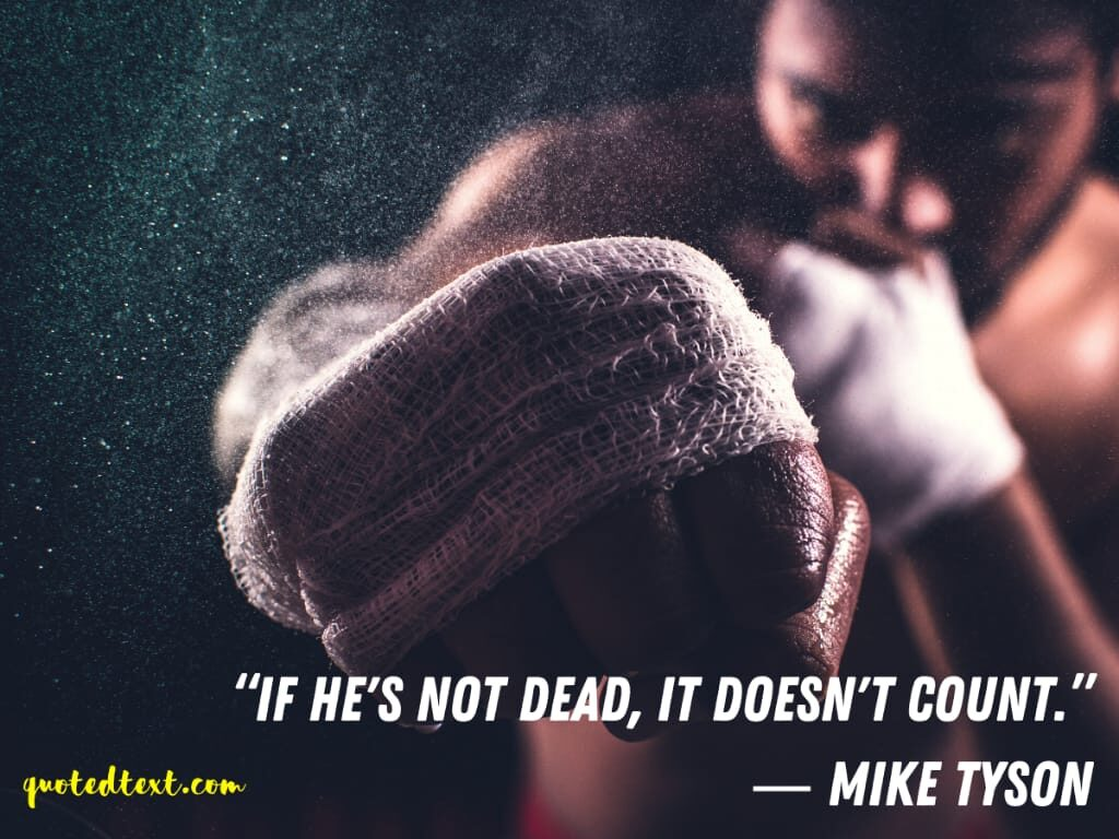 mike tyson boxing quotes