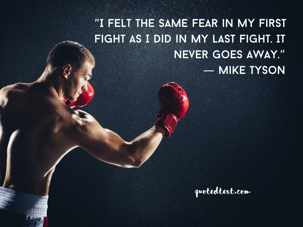 fear quotes by mike tyson