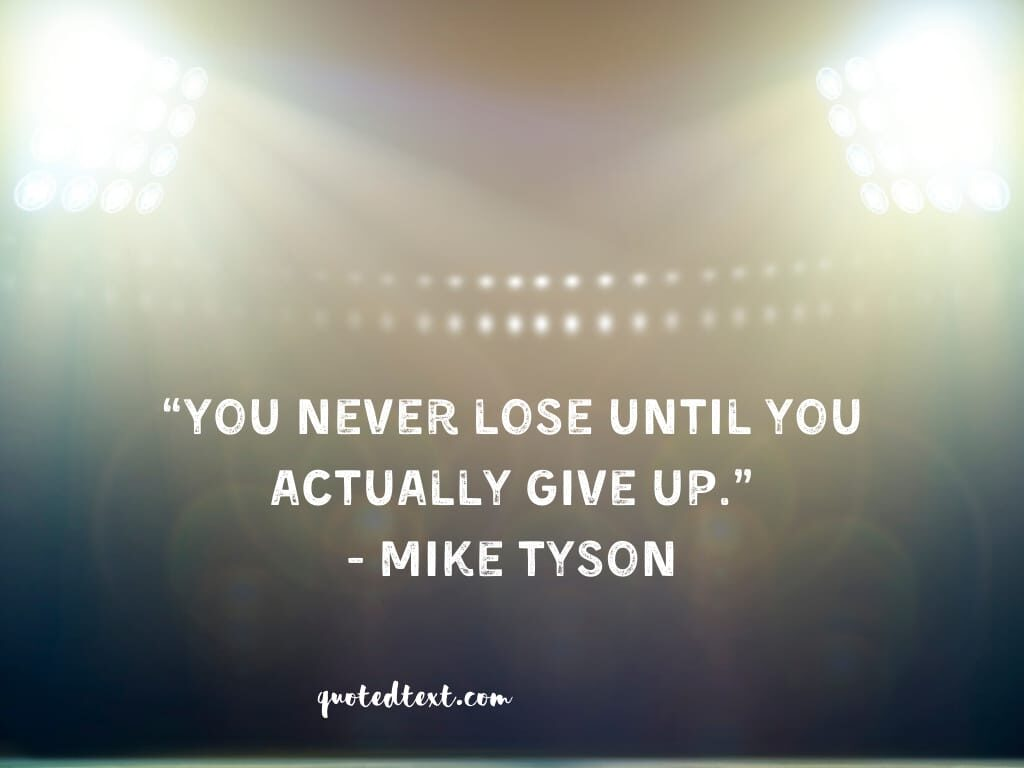 quotes on give up