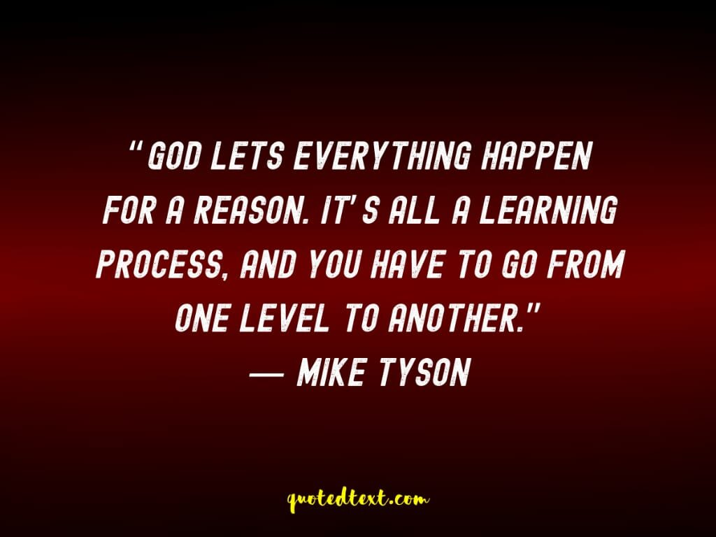 learning quotes by mike tyson
