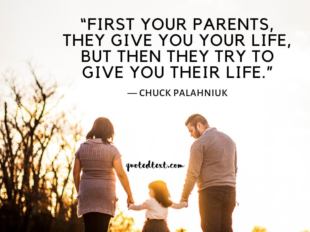 parents quotes on life