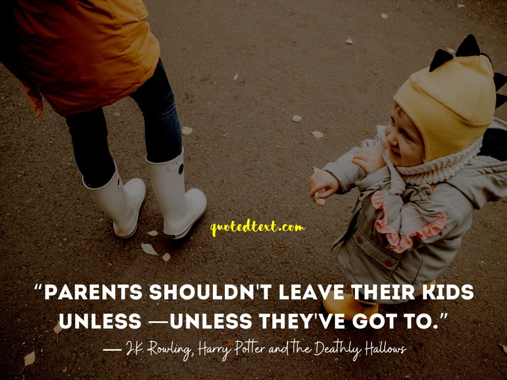leaving children quotes