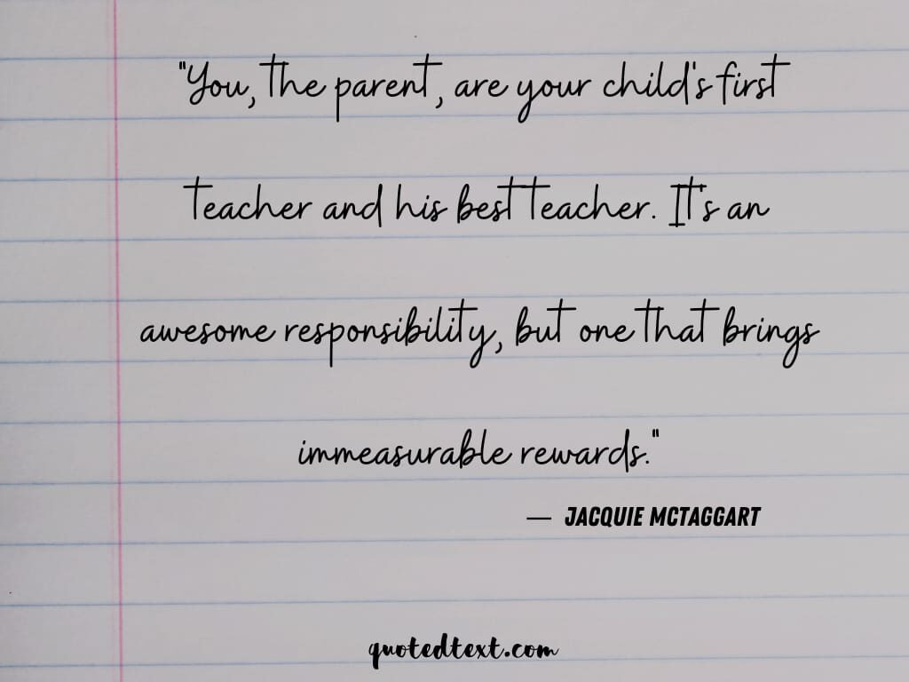 parents teaching quotes