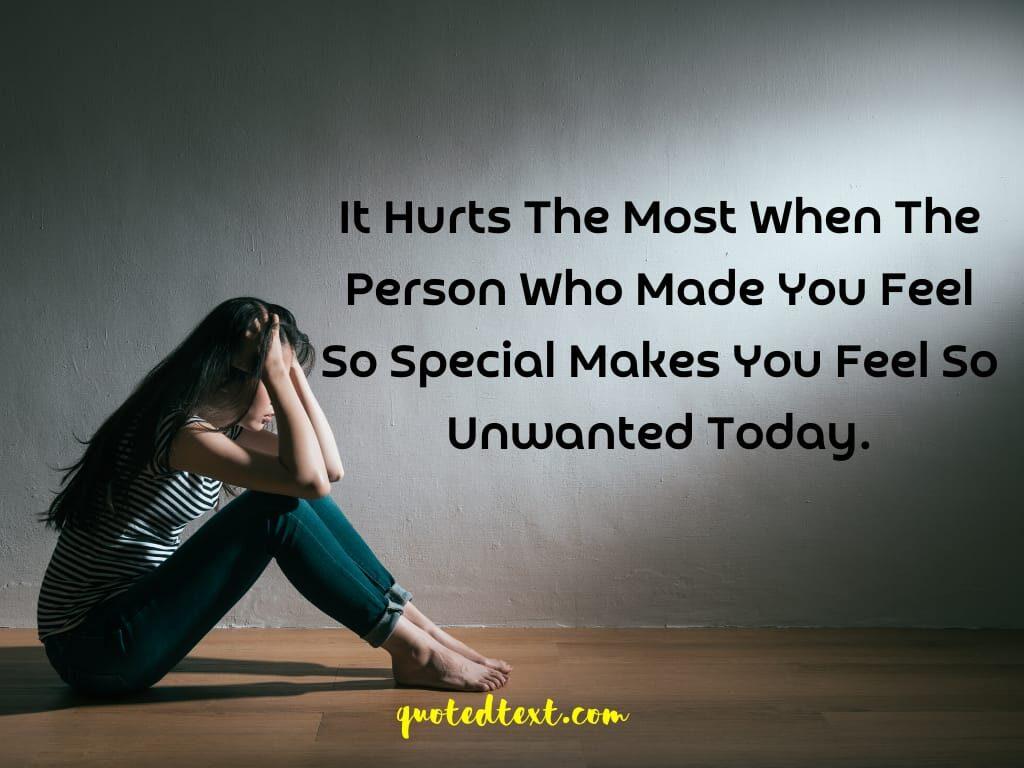 hurt sad status
