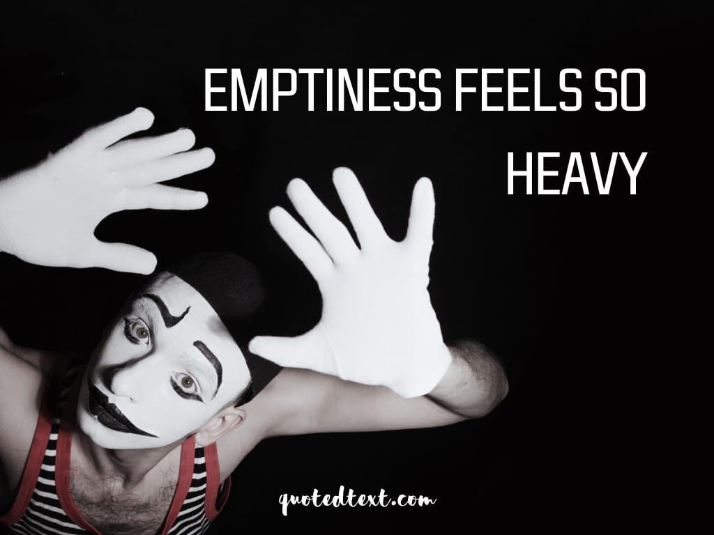 emptiness status