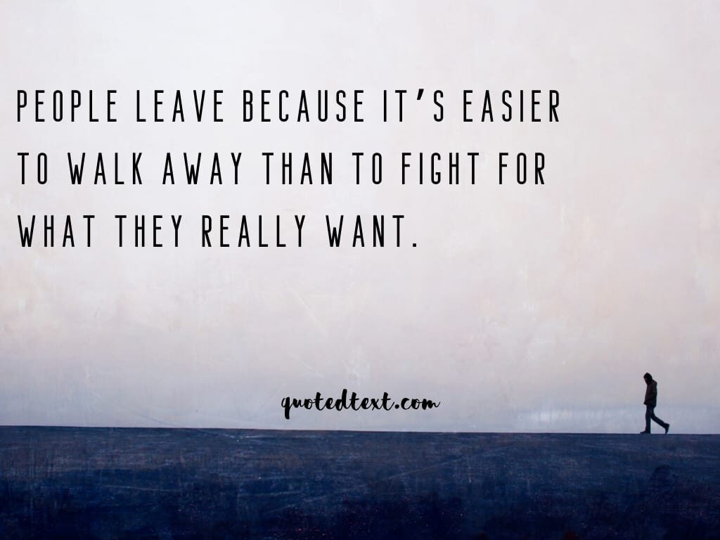 walk away status