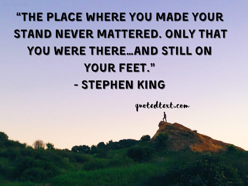 Stephen king quotes on motivation
