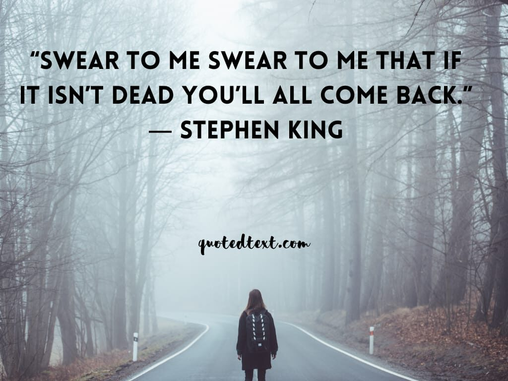 Stephen king quotes on comeback