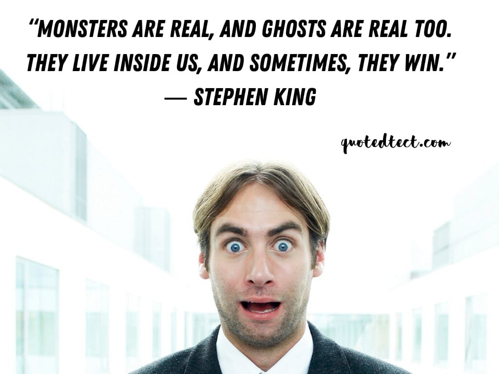 Stephen king quotes on monsters