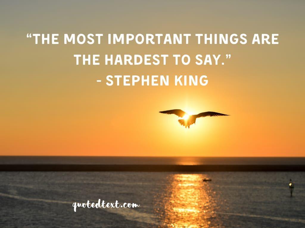 Stephen king quotes on tough phase