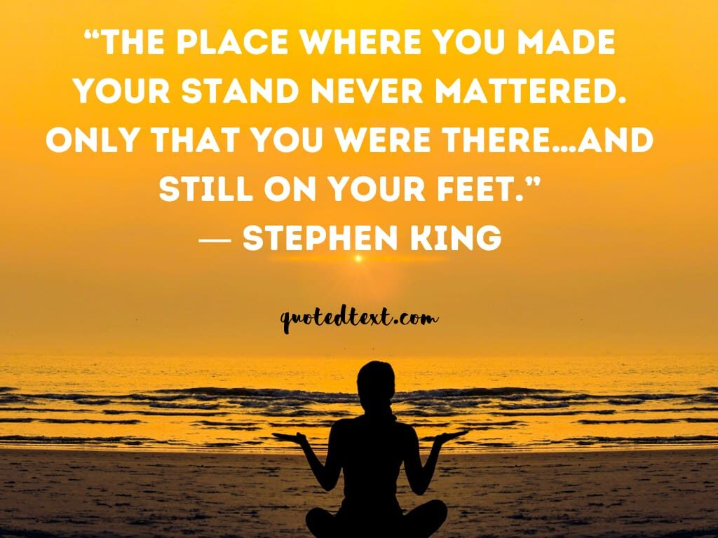 Stephen king quotes on