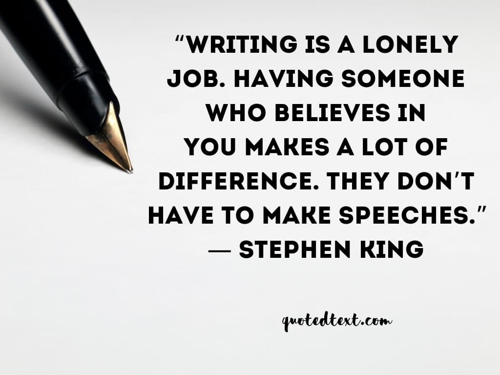 Stephen king quotes on writing