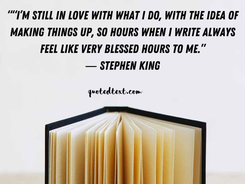 Stephen king quotes on idea