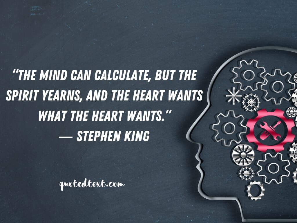 Stephen king quotes on mind