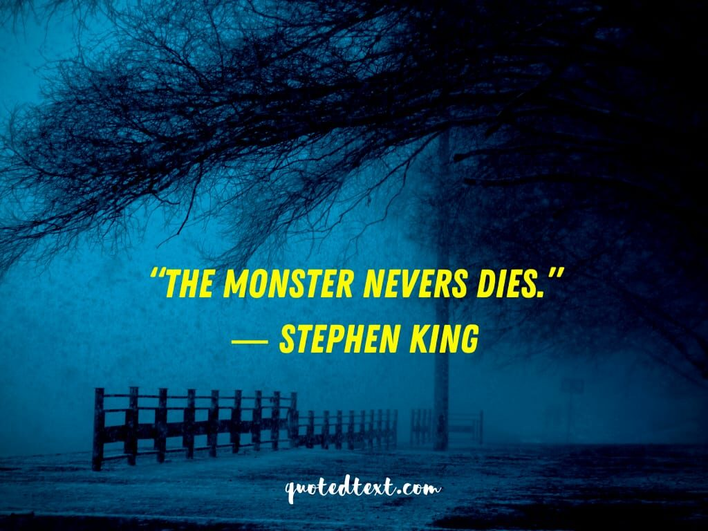 Stephen king horrifying quotes