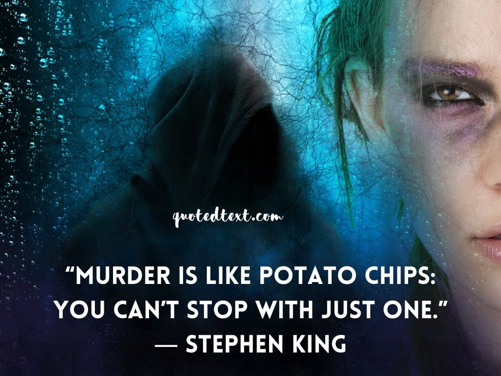 Stephen king quotes on murder