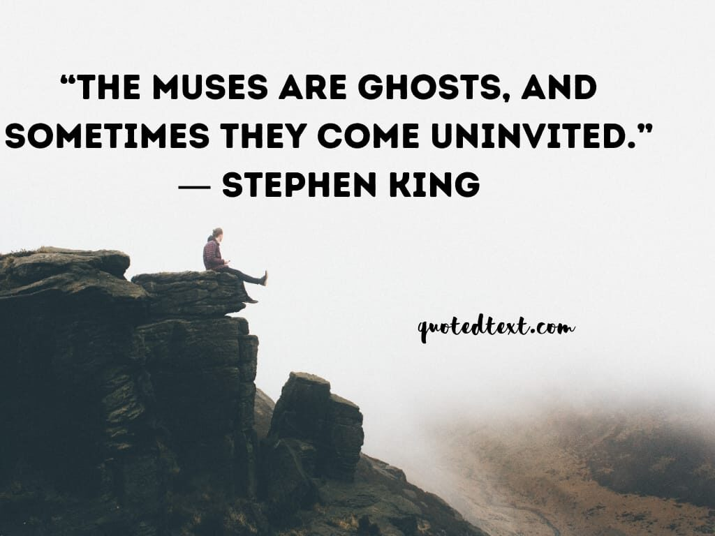 Stephen king quotes on ghosts