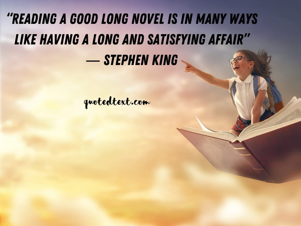 Stephen king quotes on satisfaction