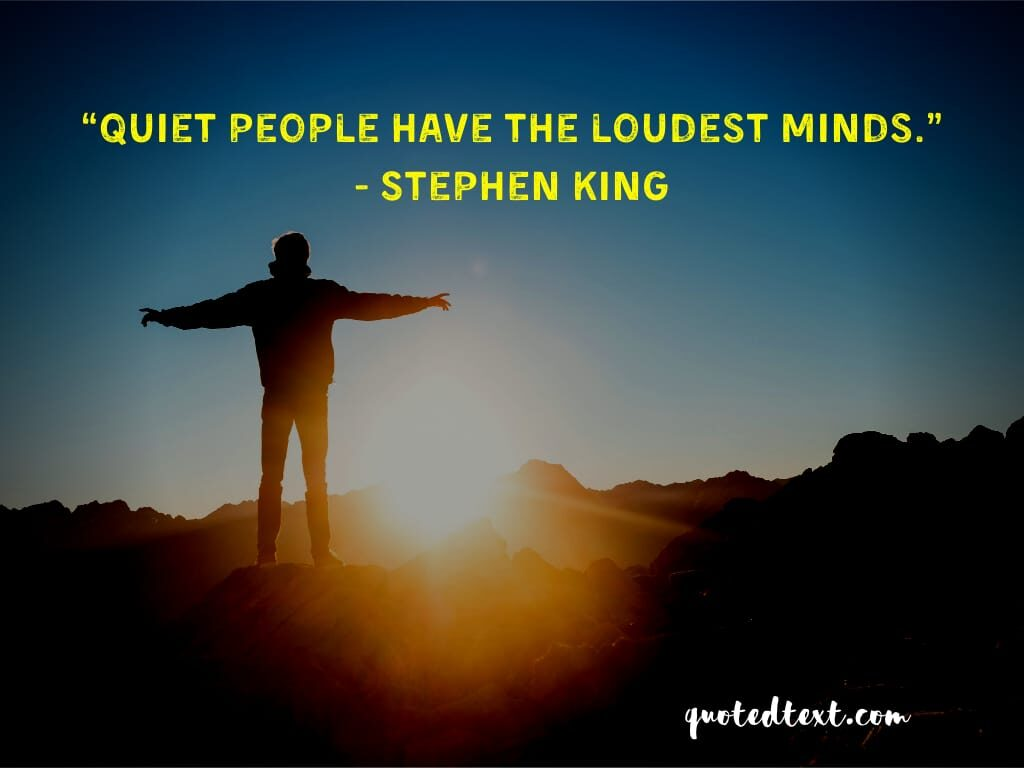 Stephen king quotes on slience