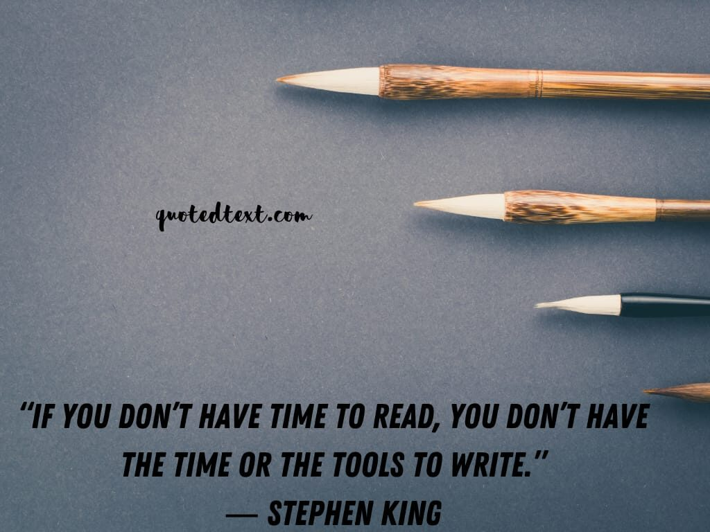 Stephen king quotes on reading