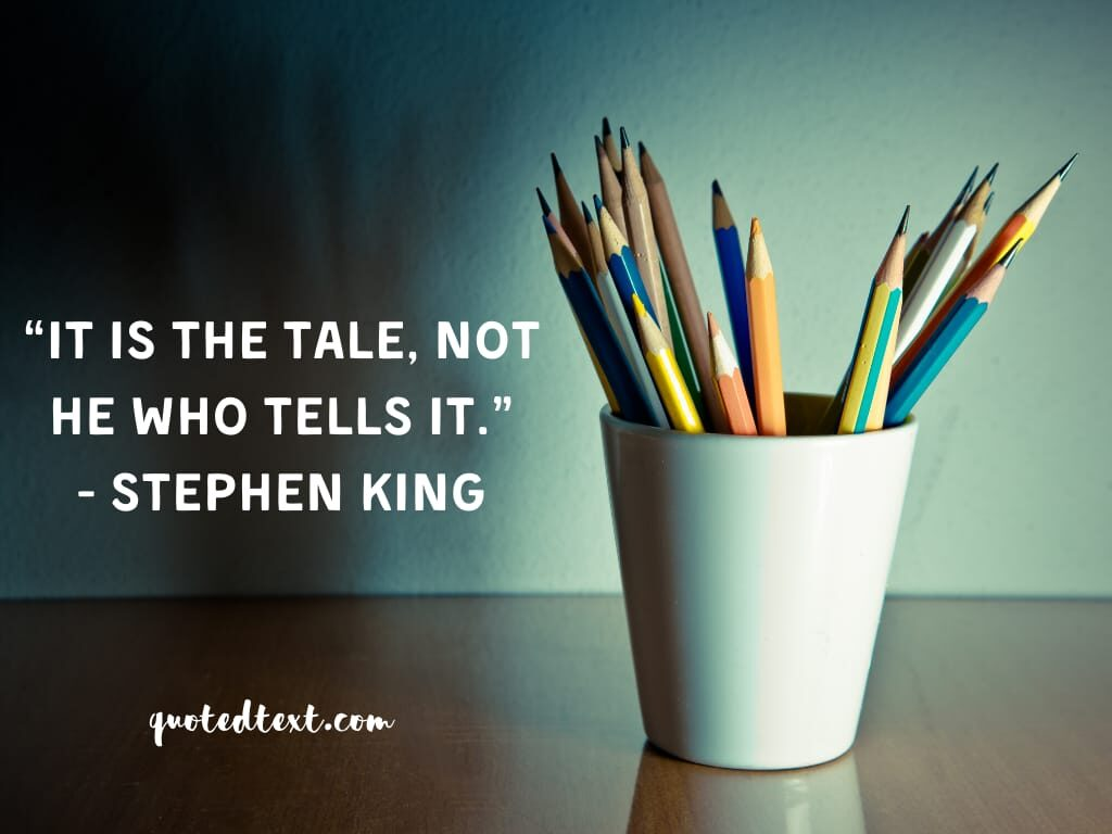 Stephen king quotes on tale