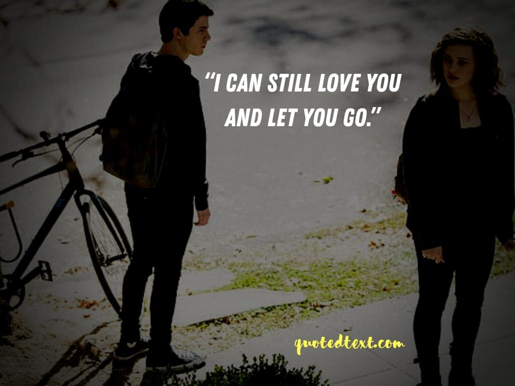 13 reasons why quotes on love