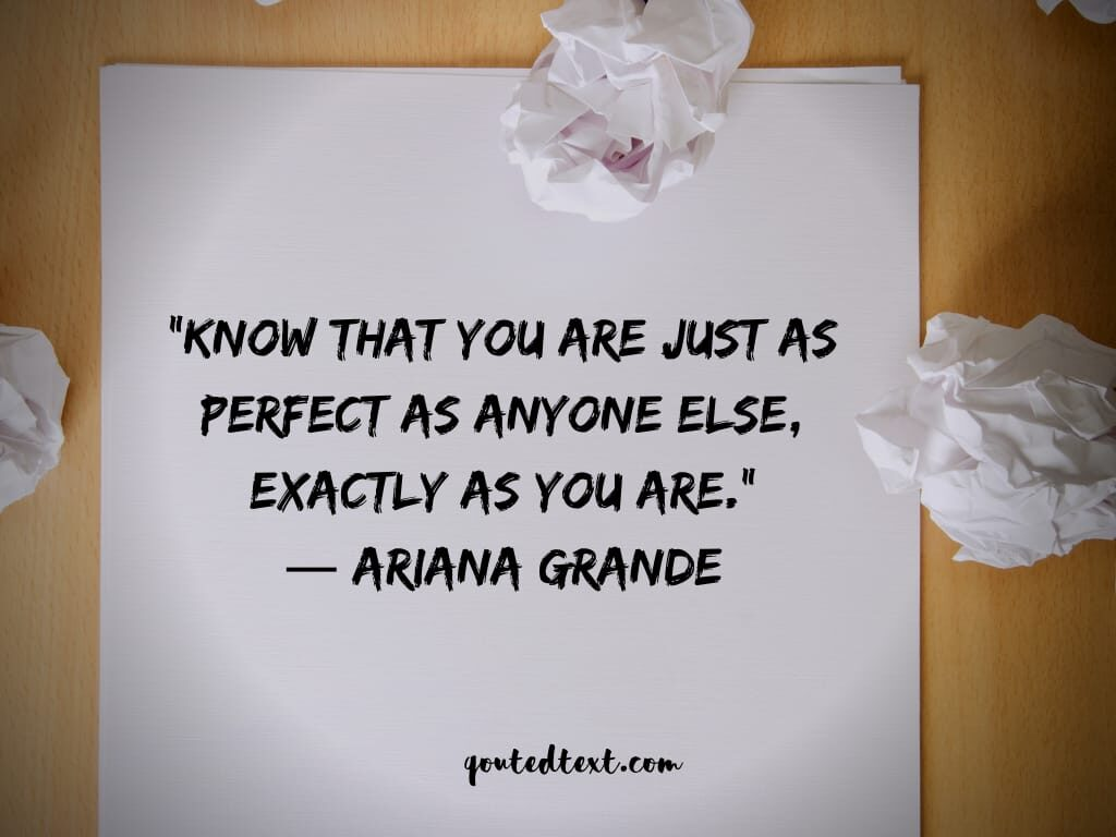 ariana grande inspirational quotes