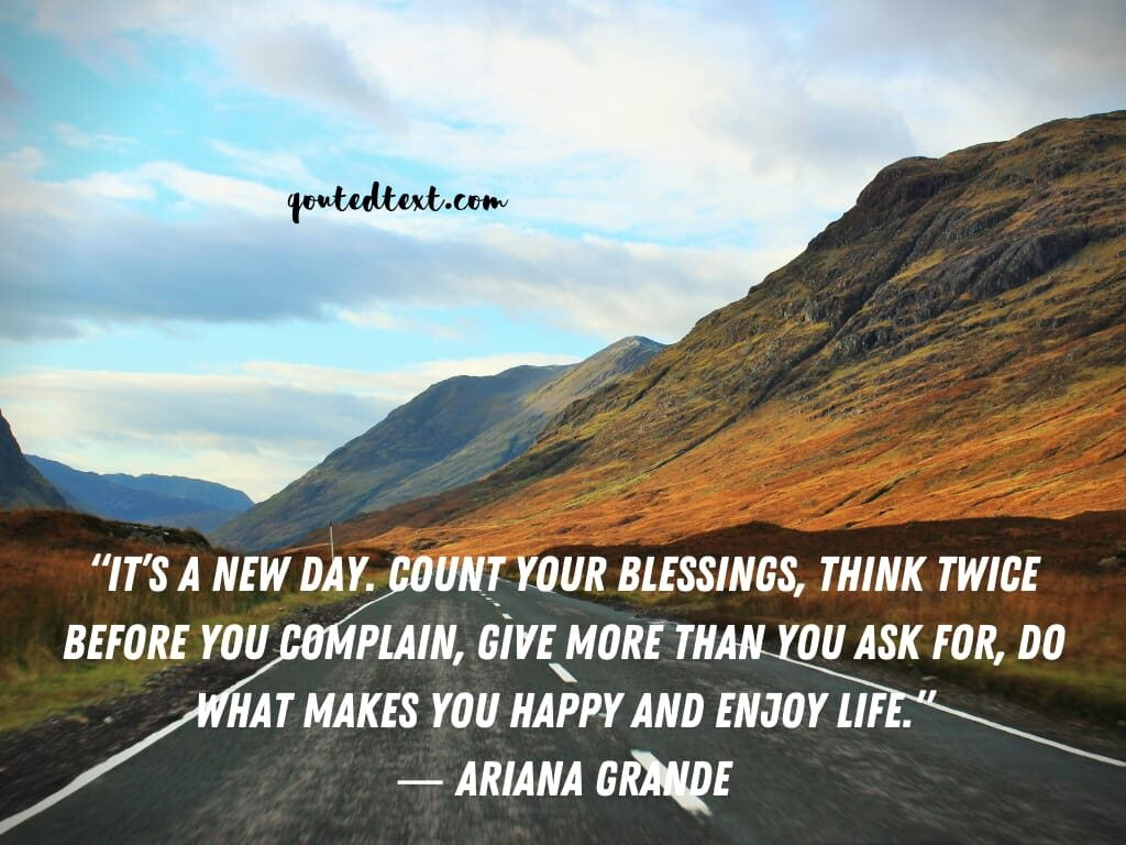 ariana grande quotes on life motivation