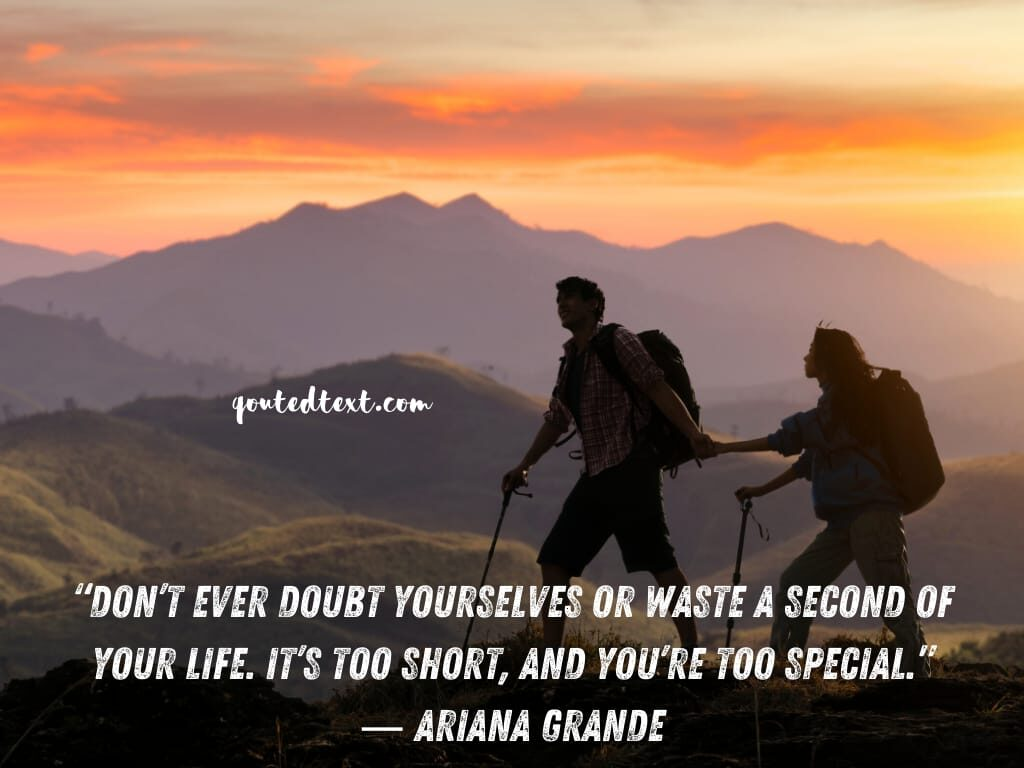 ariana grande quotes on life inspiration