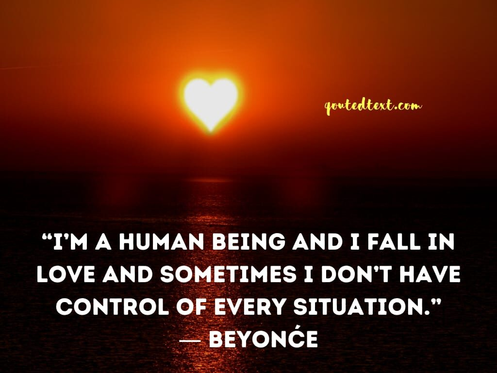 beyonce quotes on love