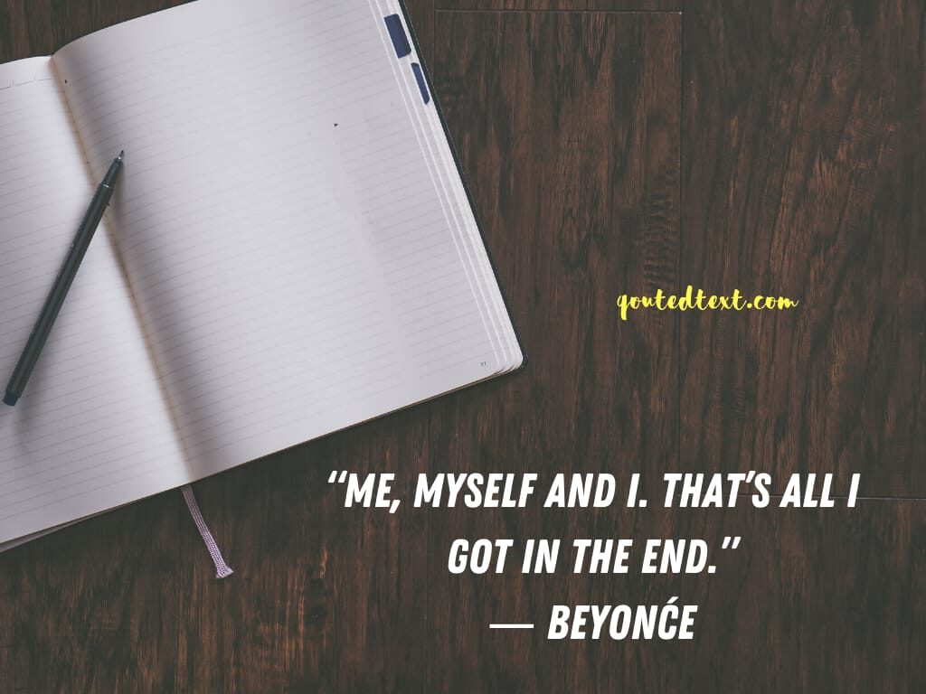 beyonce quotes on herself