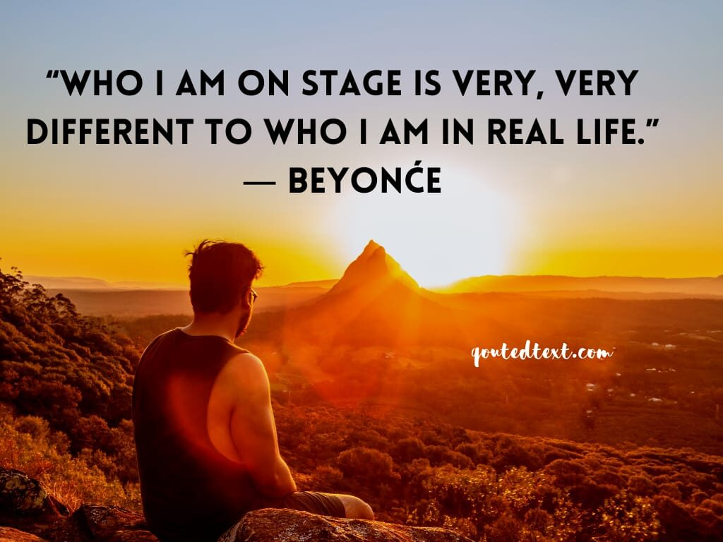 beyonce quotes on real life