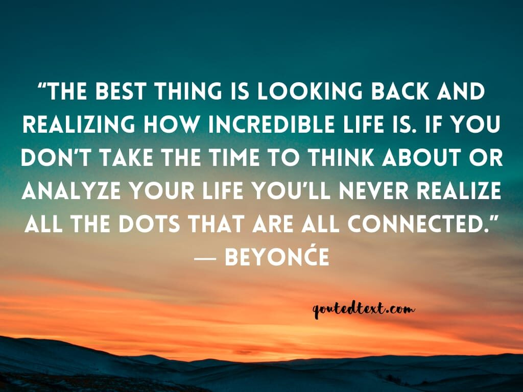 beyonce quotes on life