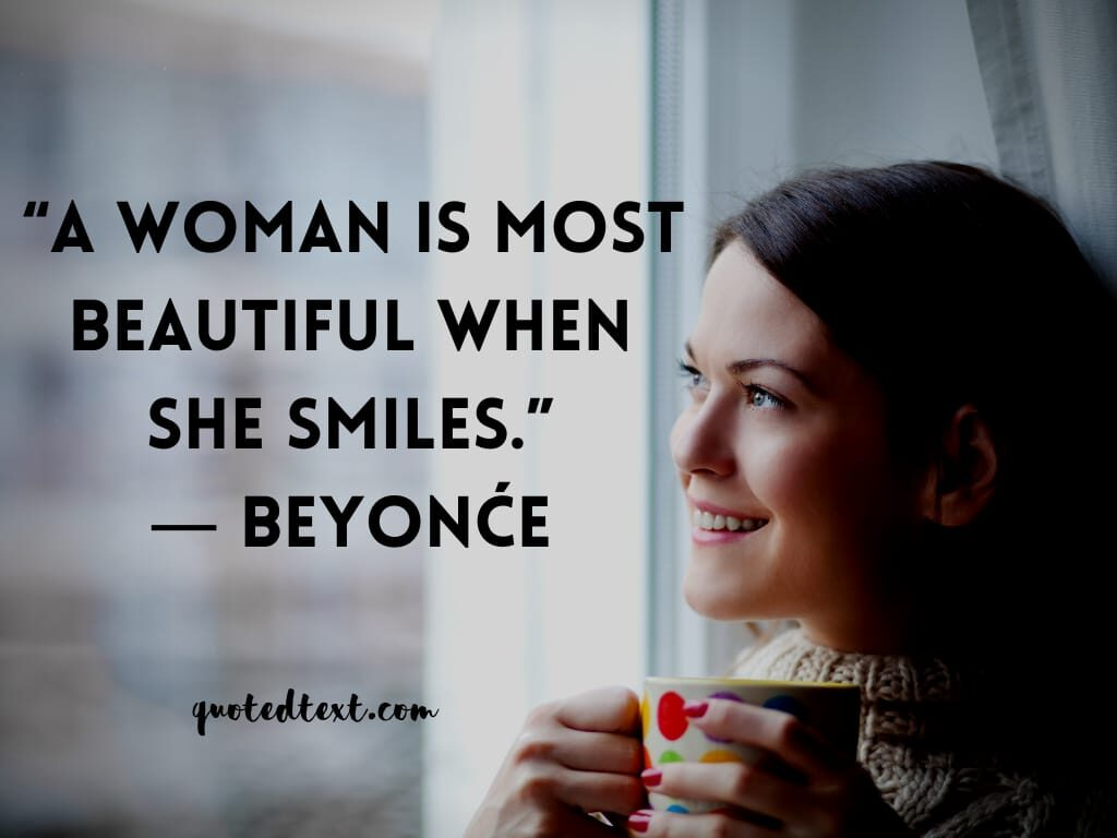 beyonce quotes on woman