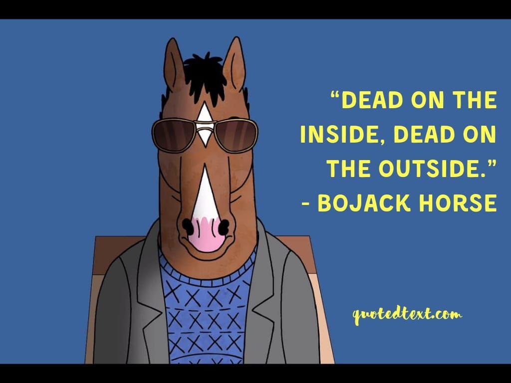 bojack horseman quotes on depression