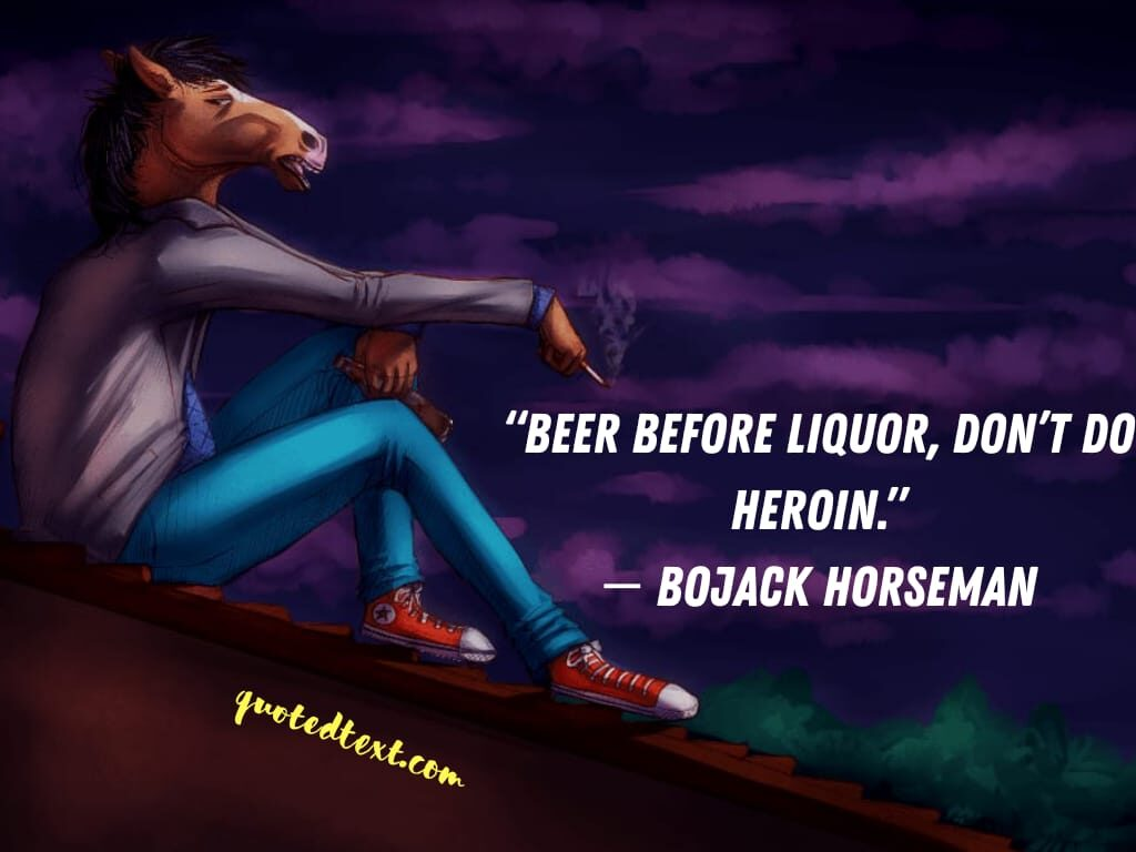 bojack horseman quotes on humor