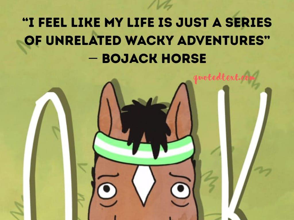 bojack horseman quotes on life